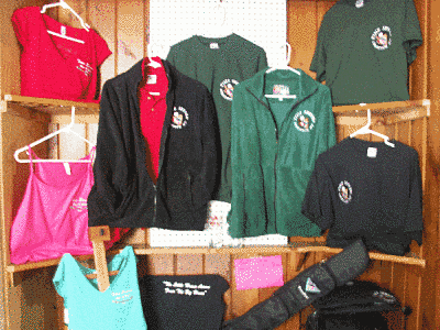 Our merchandise display